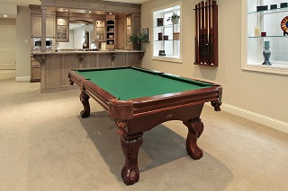 professional pool table installations in waukesha